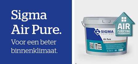 Ook een schonere lucht in uw huis dankzij Sigma Air Pure?